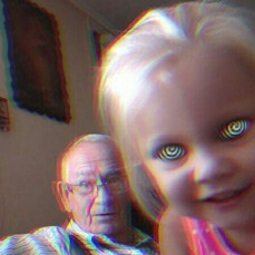 Grandpa Boggs and Anna. Daughter of Holly Fountain - Heather Fountain