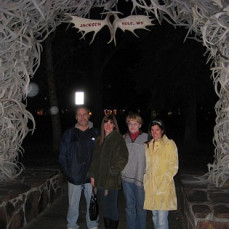 Under the Antler Arches in Jackson Hole! - Melissa Davidson