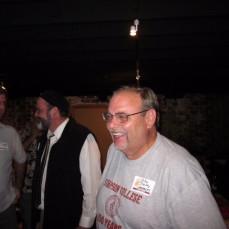 John Tinley with John D at 2010 Simpson Reunion - Criss Gilbrert