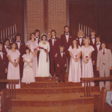 Tom to my left as my best man August 1, 1980. - Mitchell Hahn