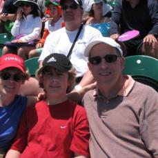 Zach with family - Zach Tabak