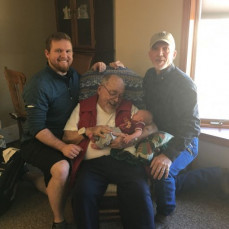 Four generations - Walter, Tom, Jacob & Connor.  - Candice Martin