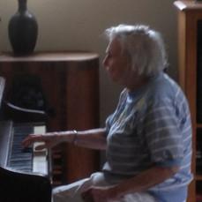 Mom playing piano - Glenn Teschendorf