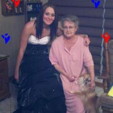 First great granddaughter, Chelsie Arlene Named after her great grandma. - Deanna