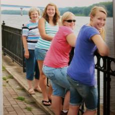 Granddaughter trip to Little Brown Church and Prairie du Chien.  August 2009  - Brandy Molitor