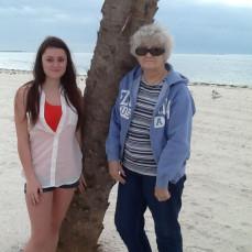 Anne and granddaughter Nikki  - Nikki Brown
