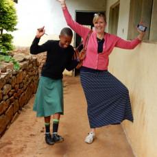 Heather in Tanzania - Thomas M. Hanko