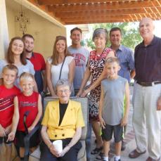 An Albuquerque farewell as Ruth moves back to Iowa. - Kerry Smith