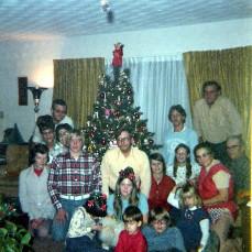 Christmas early 1970's - Tim Doyle