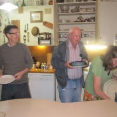 The Charlie Schneckloth kitchen work team - Anna Holdaway