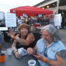 One of our many trips to awesome biker nights! - Chris lipsett