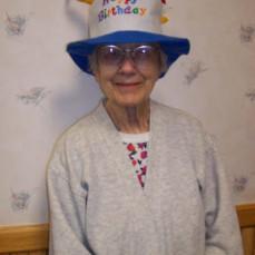 2015, Helen's birthday in Hampton, IA. - Lorna Vinson