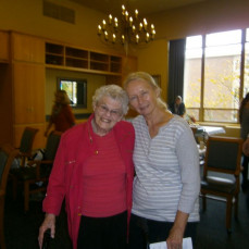 my sister Dorothy Hopp with Dorothy at Naomi Briest memorial Sept 2015 - CINDY BRIEST