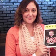 Rose enjoying a Broadway musical - Luis S.