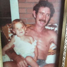 Me and grandpa Tom! One of my favs! - Sandra Angerbauer