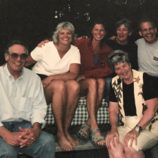 The cousins remember Bill. - Tracey O'Brien Barnes