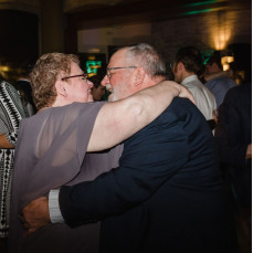 Marcia and Fred dancing at Will's wedding, January 2019 - Will Hoffman