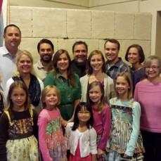 10 year anniversary at St. Paul's Lutheran Church in Waukegan for Caroline and Brad.   - Kim Marie Ball