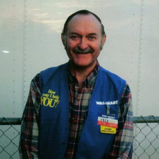 One of the first members of my Walmart family--Fred :-) - Amanda Levsen