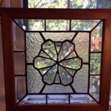 One of Shirley's beautiful cut glass creations. - BARBARA ANN HELMICK