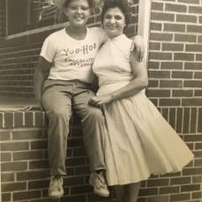 Tuba Joe!Mom and I on the Porch!Three Generations! - Donna