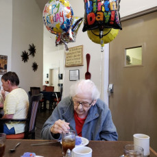 Her 97th birthday - Catherine Noah