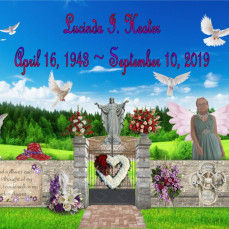 RIP Lucinda, my condolences to you family and friends. - Richard Gire