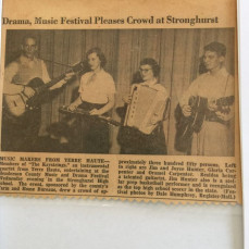 """The Keystrings Quartet"""" 1954 - Gloria Hepner"""