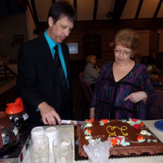 Our 25th Anniversary Renewal of Vows Oct. 2, 2015. - Mark Smith