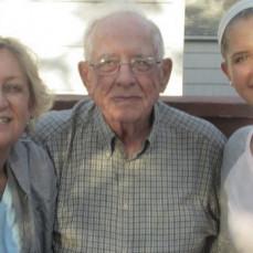 Nancy, Dad, Cassie - Gail Ness