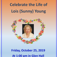 Sunny's Memorial Presentation - Catherine Young
