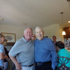 2 photos from Bill's 90th. - Michael McGrath
