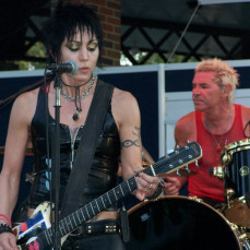 Good times at the Joan Jett concert in Des Moines, too bad we both hated our pics taken, I would have had way more pics of Jody & me together - Dorothy Parker