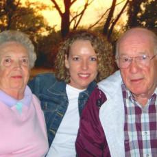 Grandpa and Grandma Frankl - Lisa Kunkel