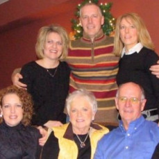 Sara and her family - Lisa Kunkel