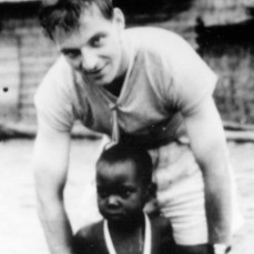 Jan sent us this photo of his youthful self when we published his memoir LIVING WITH AFRICA. - Sheila Leary U of Wisconsin Press