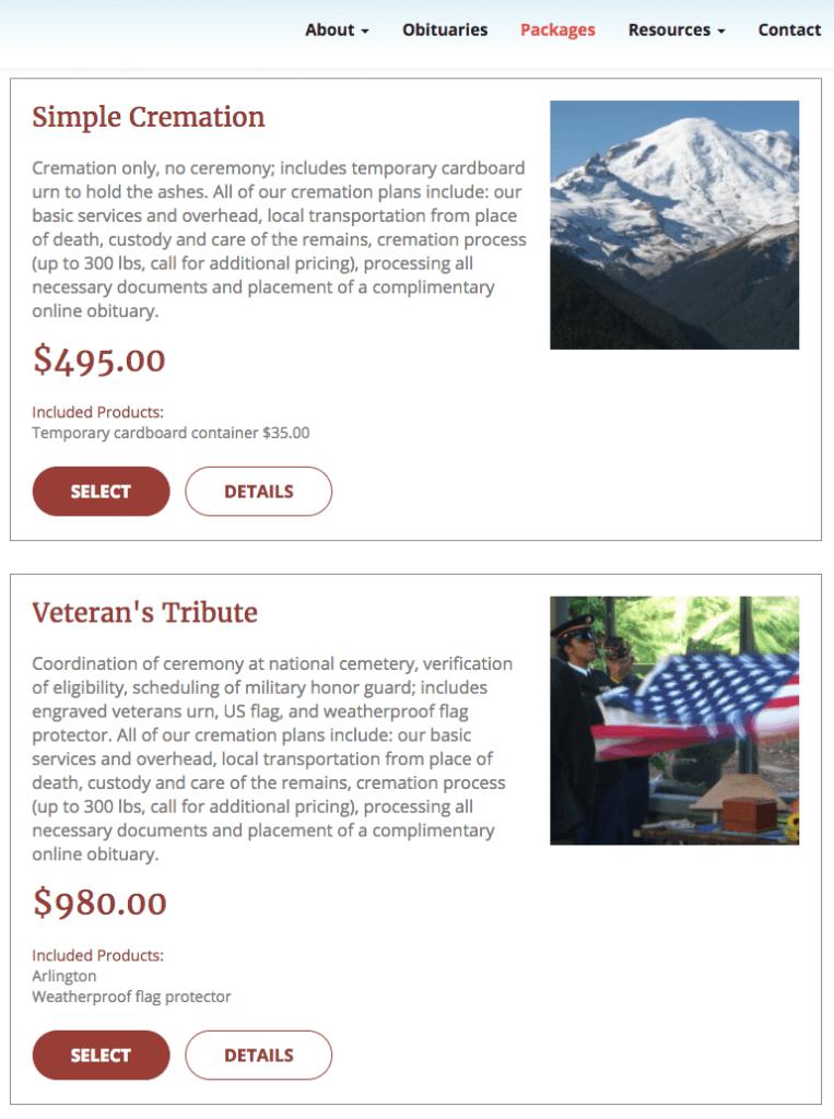 Websites | Digital Marketing for Funeral Homes | Funeral